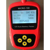China Car Battery Tester MICRO-100 Digital Battery Tester Battery Conductance & Electrical Syste on sale