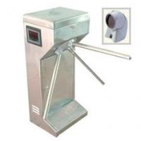 Quality Access control vertical Tripod Turnstile gate with scanner for subway, community for sale