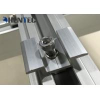 Quality Anodized PV MID Clamp Solar Roof Mounting Systems For Roof Mounting Systems for sale