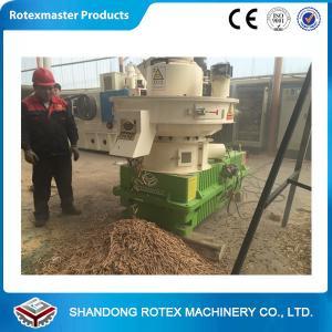 Quality 1-1.5 Ton / H Capacity Biomass Pellet Machine Complete Wood Pellet Production Line for sale