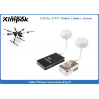 Quality AV Wireless 5.8Ghz Video Transmitter and Receiver , 9CH FPV Video Sender for sale