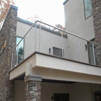 Quality Stainless Steel Rod Railing / Post for Railing Easy Installation for sale