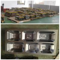 Quality Fast Food Aluminum Foil Container Mould realize cutting  / forming / plugging for sale