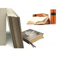 China Grey Laminated Book Binding Cover Board , 1.5mm Book Boards For Binding on sale