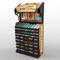 China Retail Custom Floor Display Stands For Candy Sugar / Snack Advertising on sale