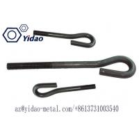 Quality M20 L Shape Bolt Foundation Bolt with Carborn Steel Material ,black OR Z.P/ 6m-48m or custonmized for formwork,soil nail for sale