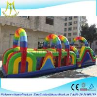 Quality Hansel diy playground equipment,obstacle sport game indoor and outdoor for sale