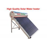 Quality Reliable Vacuum Tube Solar Water Heater , Heat Pipe Solar Water Heater for sale