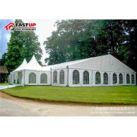 Quality Luxury Wedding Ceremony Tent , Commercial Party Tents With Clear PVC Windows for sale