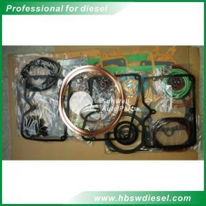 Buy Komatsu S6140 Lower gasket set 6212-K2-9901 Bottom overhaul gasket kit at wholesale prices