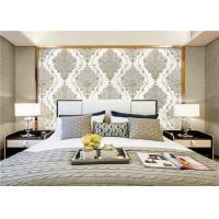 Quality Elegant Luxury PVC Waterproof Wallpaper Damask Designs For Walls , Vinyl Material for sale