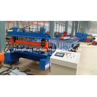 Quality Galvanized Metal Steel Roofing Sheet Roll Forming Machine Automatically Gl Coated for sale