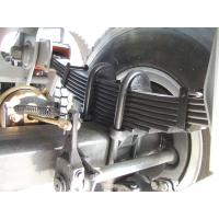 Quality Leaf Spring Suspension Semi Trailer Spare Parts With 10 Pieces Leafs W90mm * T16mm for sale
