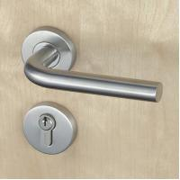Quality Silver SUS304 Stainless Steel Escutcheon Lock Fire Proof For Residential for sale