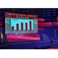 Buy Stage Super Thin Hanging System P4 Full Color LED Display Screen at wholesale prices