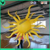 Quality Inflatable Sun For Event,Inflatable Sun Model,Yellow Inflatable Sun for sale
