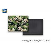 Quality Lovely Panda Photo Lenticular Magnet Souvenir Customized Size SGS Certificated for sale