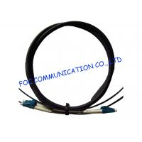 Quality FTTA Fiber Optic Patch Cable LC 2 Core With Armored Tube High Tensile Strength for sale
