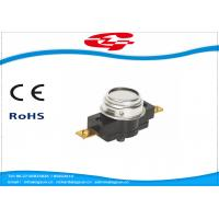 Quality Manual Reset Temperature Bimetal Thermostat 45~160 Degree 25A 250V (45A 250V) for sale