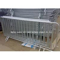 Portable Security Fencing : Powder coated temporary fencing panels portable steel