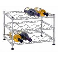 China Classics Stackable Storage Holder Metal Wire Shelving Bar Display Stand Vintage for sale