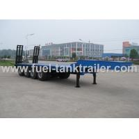Quality 3mm Checker Plate Construction Equipment Trailers  Auto - Tuning I Beam Structure for sale