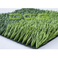 Quality Anti - UV Fake Grass Synthetic Grass For Football Field 50mm Pile Height for sale