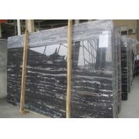 Quality Sliver silver Dragon Black with White Vein polished black and white stone marble slabs tiles for sale