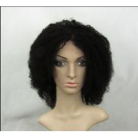 Quality Curly Wave 10 Inch Full Lace Human Hair Wigs With Baby Hair for sale