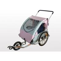 Quality Aluminum Frame with anodic oxidation treatment Double Bike Trailers / Jogger for sale