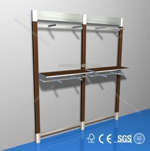 Quality Home Applicance Unique Design Clothes Rack Organiser Hanger Shelf Cheap Price for sale