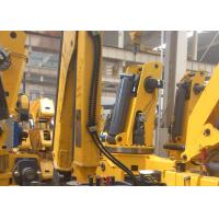 Quality XCMG Knuckle Boom Truck Crane , 1400kg Wire Rope Raise for sale