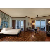 Buy Modern Hotel Bedroom Furniture Sets Solid Wood + Plywood + Fabric + Foam at wholesale prices