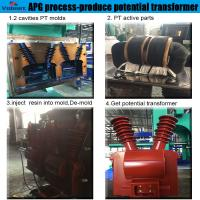 Quality automatic hydraulic press moulding machine for Combination Instrument Transformer for sale