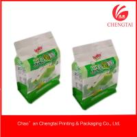 Quality Laminated Material Flat Bottom Pouches Tea Ziplock Pouches Eco - Friendly for sale