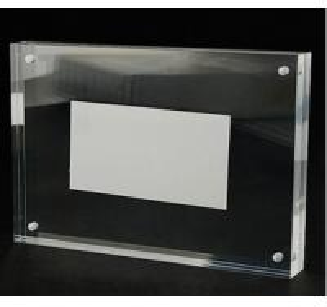 Quality Manufacturing acrylic frame acrylic magnetic photo frame acrylic photo frame for sale