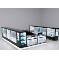 Buy Modern Style Mobile Cell Phone Accessories Kiosk With Fully - Enclosed Structure at wholesale prices
