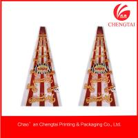 Quality Cone Shaped Bags , Custom Shaped  Pouches For Popcorn / Chips / Candy for sale