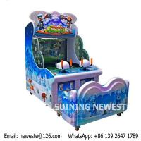 Quality 2 Players Parents and Kids Coin Operated Simulator Arcade Game Machine Water Gun Shooting Machine For Game Center for sale