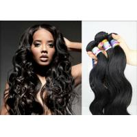 Quality Highlighted Red 16 Inch peruvian virgin hair loose wave For Beauty Works for sale