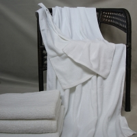 Quality Woven Plain Dyed Hotel Style Towels for sale