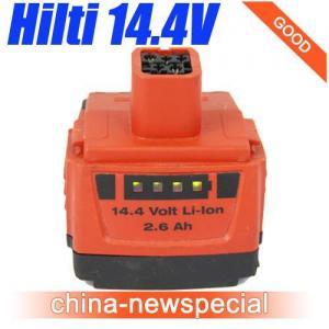 Quality HILTI 14.4V 2.6Ah Lithiu-Ion B144/2.6 LI-ION Battery used Good Price! for sale