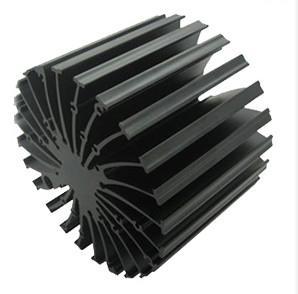 Quality 6063 - T5 Cooler / Radiator / Aluminum Heatsink Extrusions High performance for sale