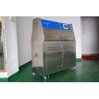 Quality UV Accelerated Weathering Tester , Touch Screen Type Rubber UV Aging Test Chamber for sale