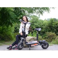 Quality 48V Two Wheel Electric Scooter For Adults / 1000W Electric Moped Scooter for sale
