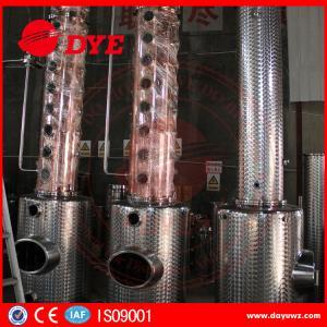 Quality Stainless Steel Moonshine Alcohol Stills Copper Distiller Manual for sale