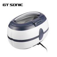 Quality Energy Saving Ultrasonic Glasses Cleaner Small Size 3 Mins Auto Shut Off for sale