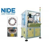 Quality BLDC Motor Coil Winding Machine / Fan Stator Winding Machine Servo System for sale