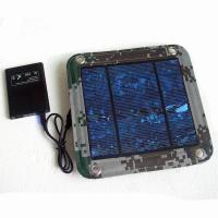 Quality 600D PVC Foldable Solar Panel Renewable Energy  / Foldable Solar Charger For IPhone for sale