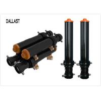 Quality Multi Stage Telescopic Hydraulic Cylinder Chrome Painted Hinge Axis for Trailer for sale